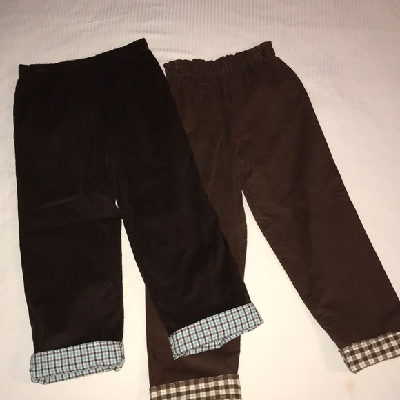 popular brand buy popular custom 2 Just Ducky Boys Reversible Plaid/Cord Pants 4 5